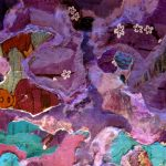 Jenny's Purple Tuftscape, Catherine Raine 2014