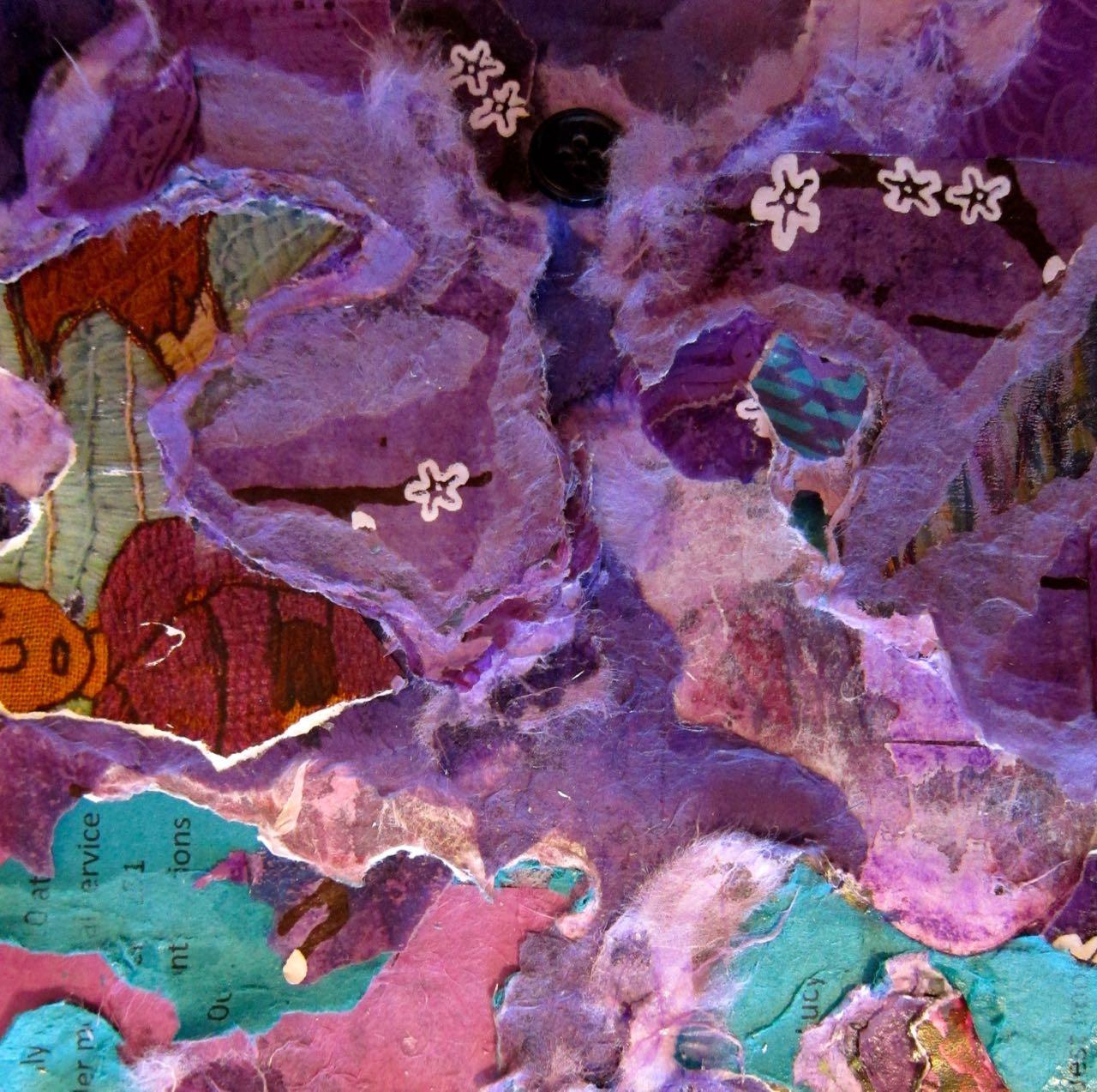 Jenny's Purple Tuftscape, Catherine Raine 2014
