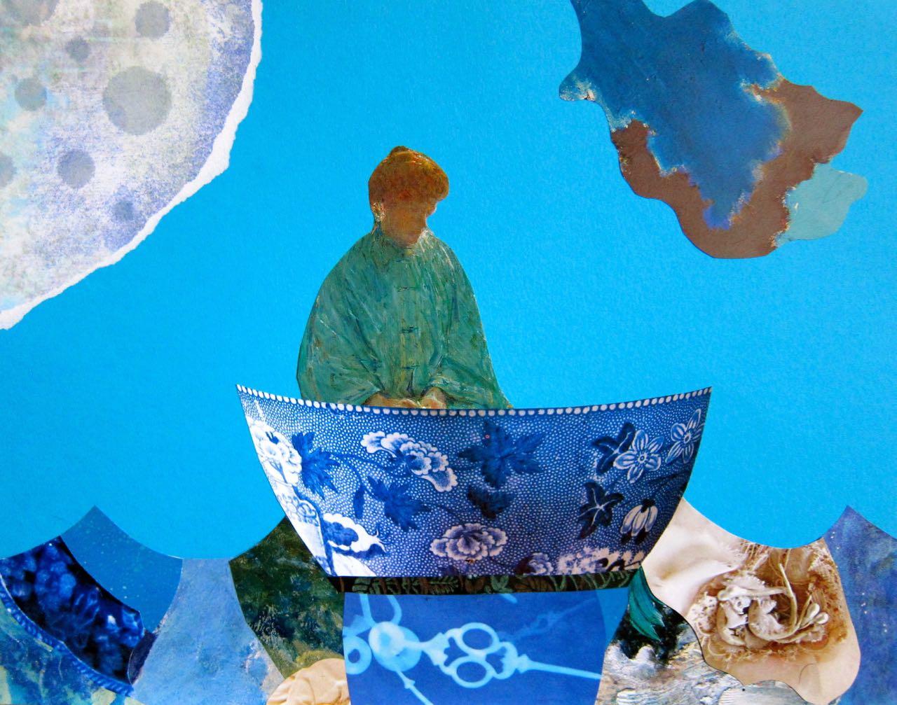 Pottery Bowl of Solitude, Catherine Raine 2014