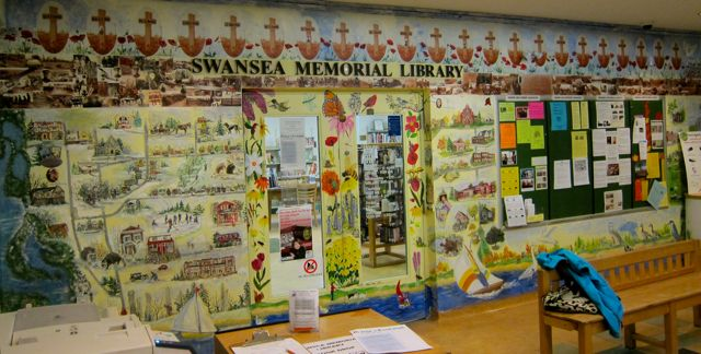 Community Mural, Swansea Town Hall