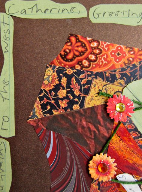 Garden of the Gods, Collage by Catherine Raine 2013