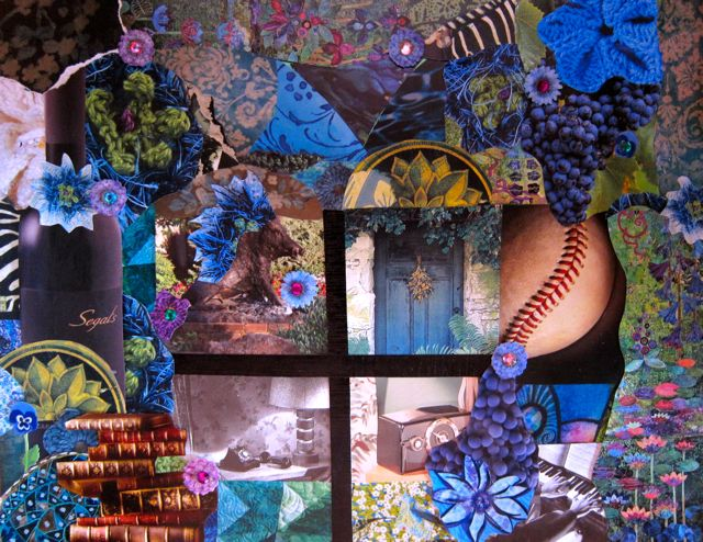 Dan and Tracy's Collage by Catherine Raine, 2013