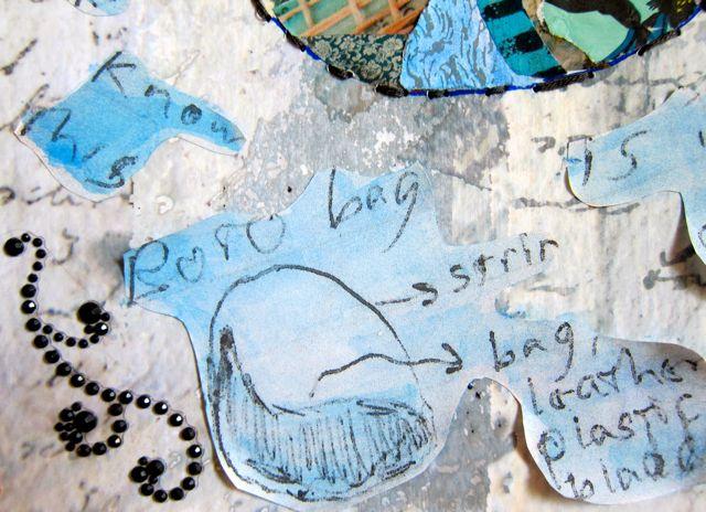 Bota Bag, Collage by Catherine Raine, 2013