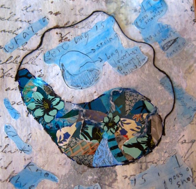 Bota Bag, Collage by Catherine Raine, 2013