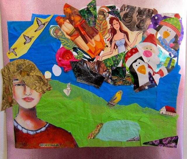 Collage by Sehrish Mazumder, 2013