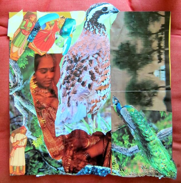 Collage by Sehrish Mazumder, 2013