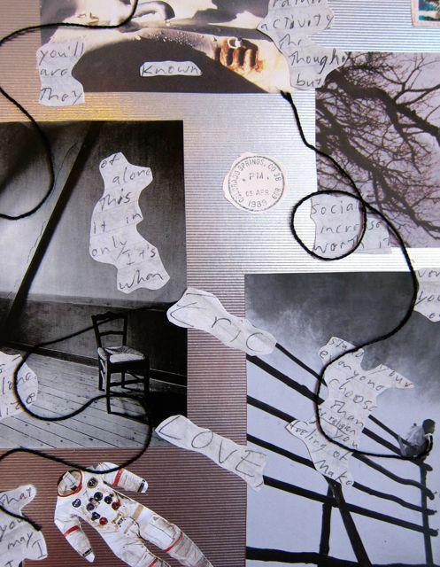Feelings of Alienation, Collage by Catherine Raine, 2013