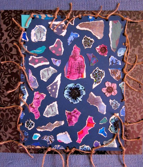 Loose Jute Mosaic, Catherine Raine 2014