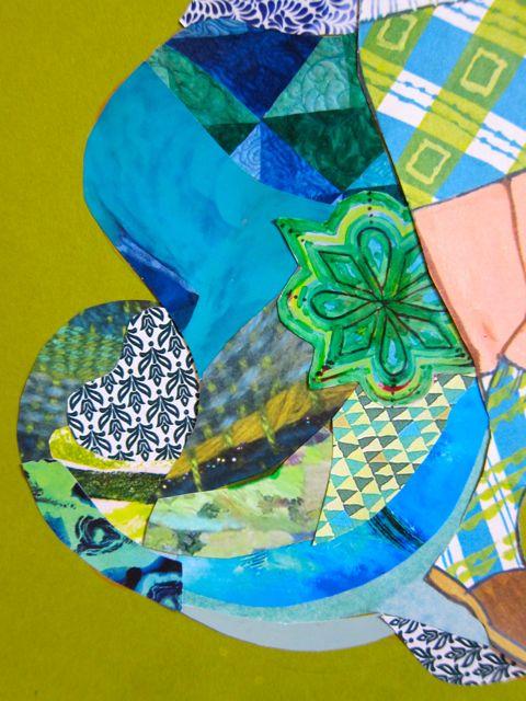 Blue-Green Twirl, Catherine Raine 2014
