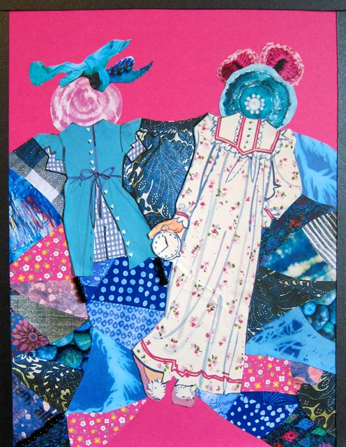 Another Pink and Blue Day, Catherine Raine 2014