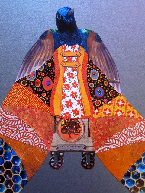 Hummingbird Prophet on Wheels, Catherine Raine 2014