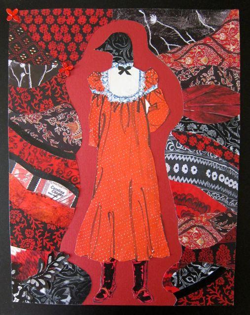 Goth Bird Stands Tall, Catherine Raine, 2014