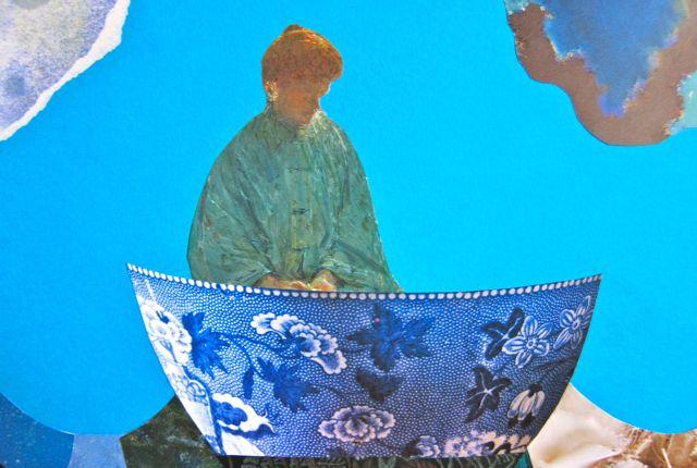 Pottery Boat of Solitude, Catherine Raine, 2014