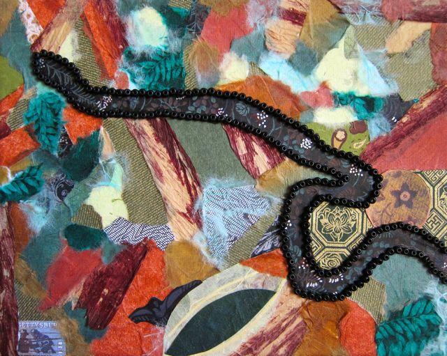 Elissa's Collage, Catherine Raine, 2014