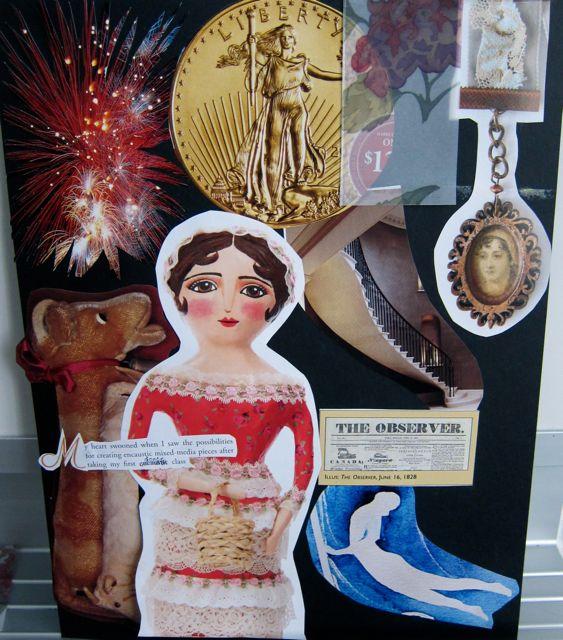 Geraldine's Collage