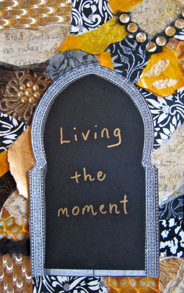 Living the Moment, Catherine Raine 2015