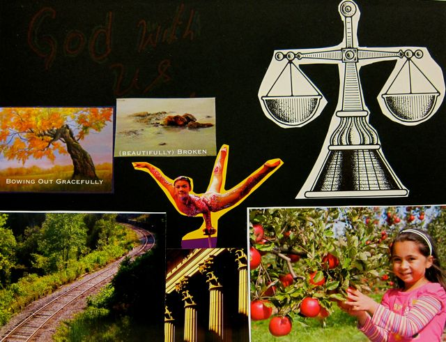 Pavandham's collage: God with Us