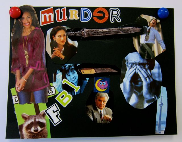 Zero's collage: Murder
