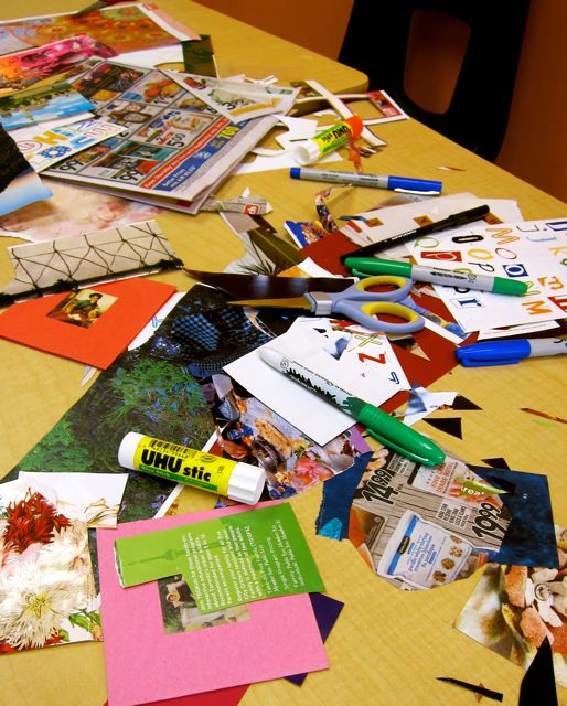 ELL Collage Workshop, July 27, 2015