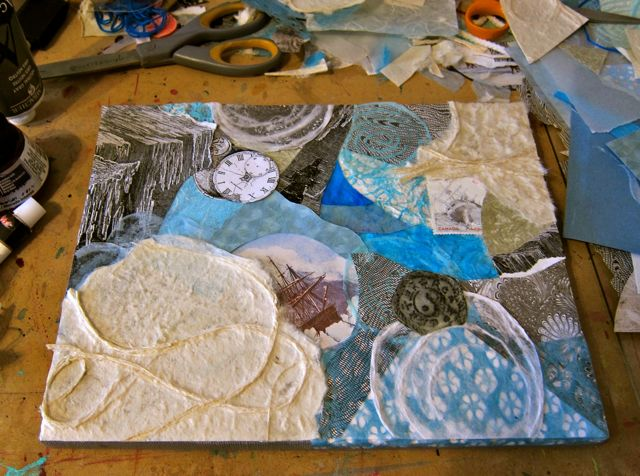 Shipwrecks Tilting on the Ice, Catherine Raine 2015