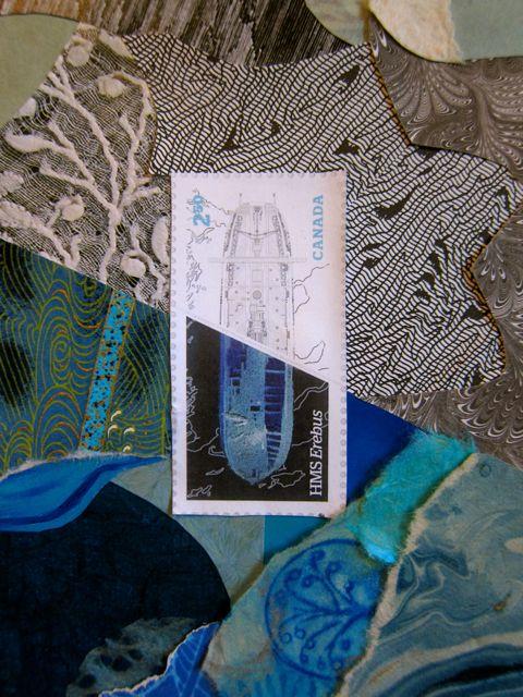 Shipwreck Blues and Grays, Catherine Raine 2015