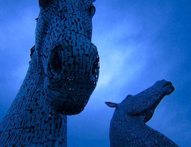 The Kelpies, Falkirk 2015