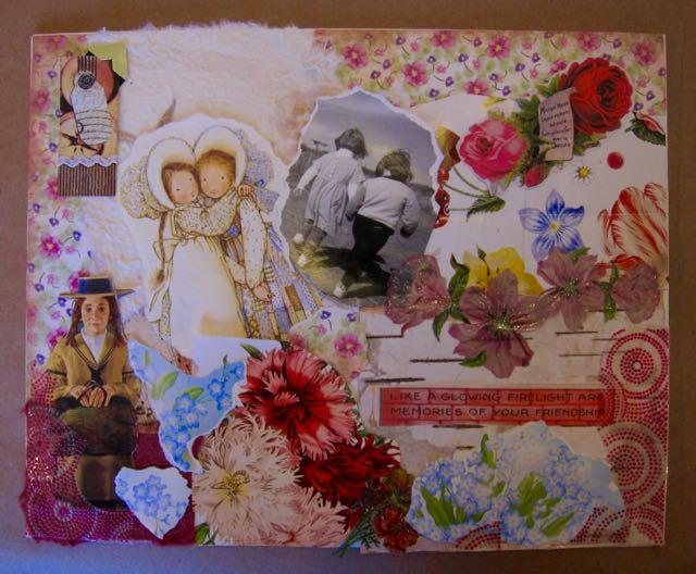 Karen's Collage for a Friend