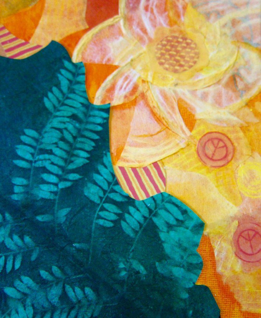 Leafy Portal, Catherine Raine 2016