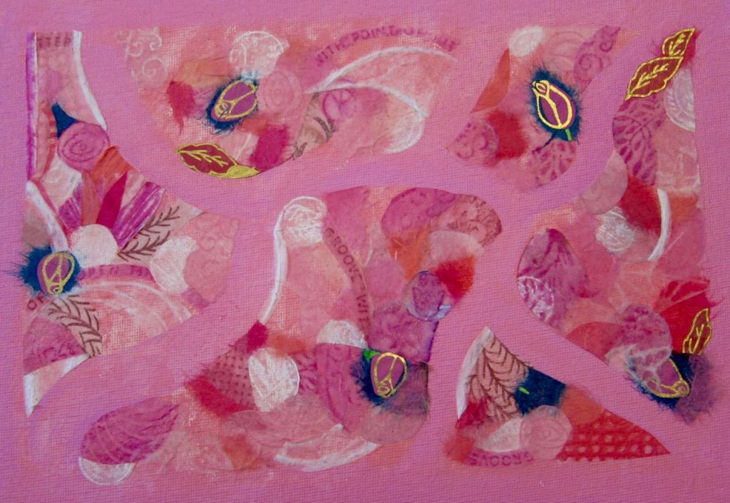 Pink Solstice Turnings, Catherine Raine 2016