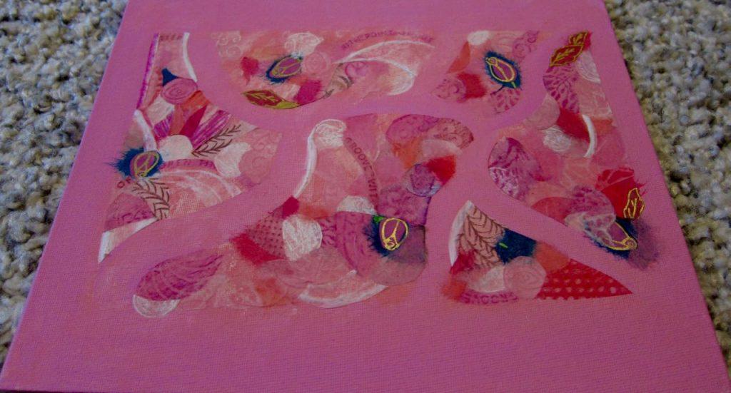 Pink Solstice Turnings, Catherine Raine 2016