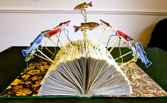 Flying Bookfish, Catherine Raine 2012