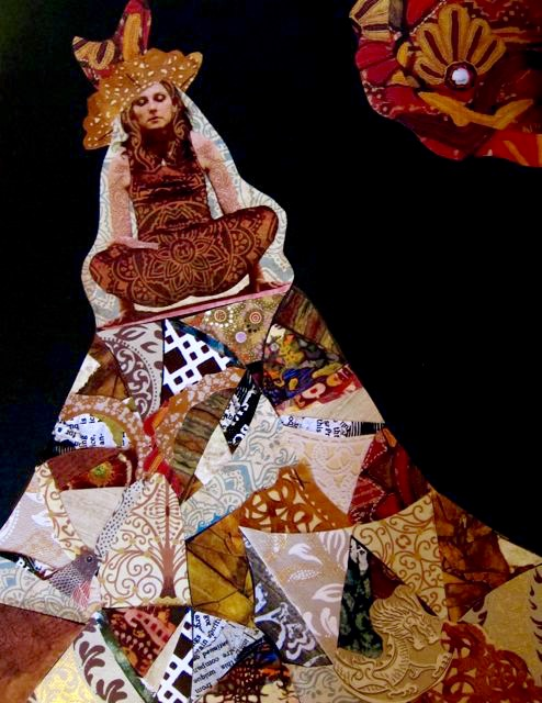 Yogic Flying on a Crazy Quilt, Catherine Raine 2012